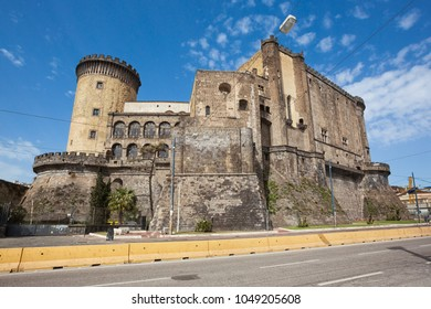 Naples (Italy) - Castel Nuovo,  New Castle, also called Maschio Angioino, is a medieval castle located in front of Piazza Municipio and the city hall