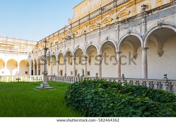 Naples Italy Certosa Di San Martino Stock Photo Edit Now 582464362