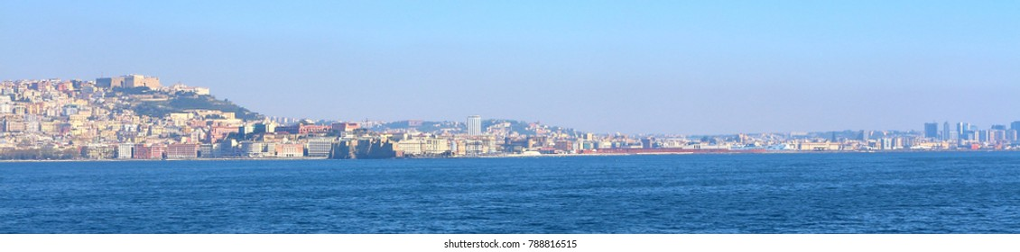Naples skyline, Italy