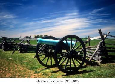 Napoleon, 12 lb cannon, near Peach OrchardGettysburg National Historical Battlefield,Pennsylvania,