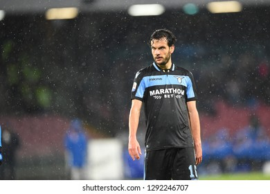 Napoli Italy, January 20th, 2019: football Serie A match between Napoli vs Lazio at San Paolo Stadium. pic info: Marco Parolo of LAZIO