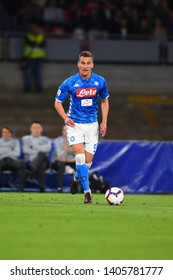 Napoli Italy, May 19th, 2019: football Serie A match between Napoli vs INter at San Paolo Stadium.