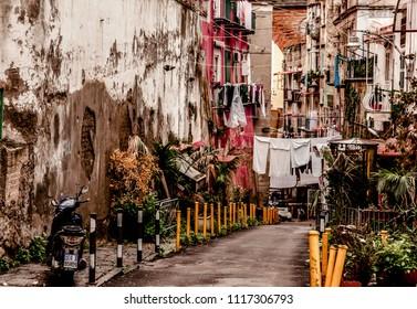 Napoli typical street