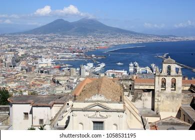 Napoli and the Vesuvio, Italy