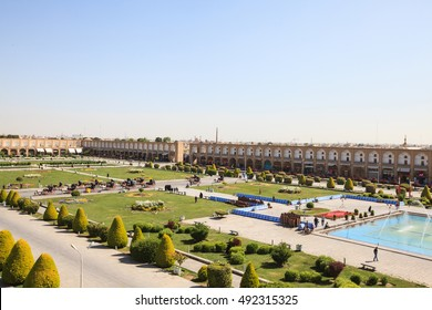 Naqsh-e Jahan Square (Imam square), Isfahan, Iran