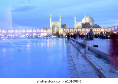 Naqsh-e Jahan Square yard, Bazaar,Esfahan, Iran