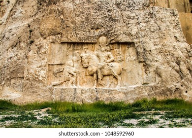 Naqsh-e Rustam is an ancient necropolis located about 12 km northwest of Persepolis, in Fars Province, Iran.