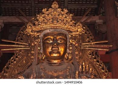 Nara / Japan - 09 Nov 2013: Todai-ji temple in Nara, Japan