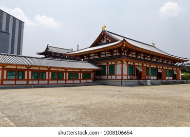 Nara, Japan, 31/5/2014 - Yakushi-ji is one of the most famous imperial and ancient Buddhist temples in Japan, that was once one of the Seven Great Temples of Nanto, located in Nara.
