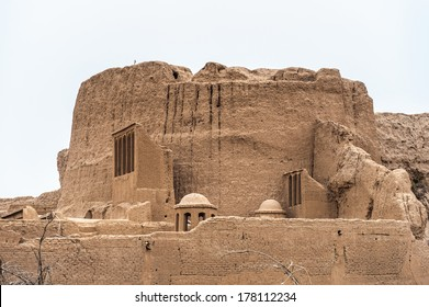 Narin Qal'eh or Narin Castle, a mud-brick fort or castle in the town of Meybod, Iran.