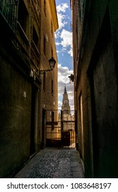 narrow amazing spot from Toledo , spain