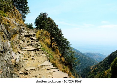 Narrow Path on the way to Mountain