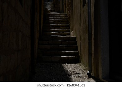 Narrow Stairs Images Stock Photos Vectors Shutterstock