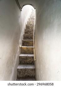 Royalty Free Narrow Staircase Images Stock Photos Vectors