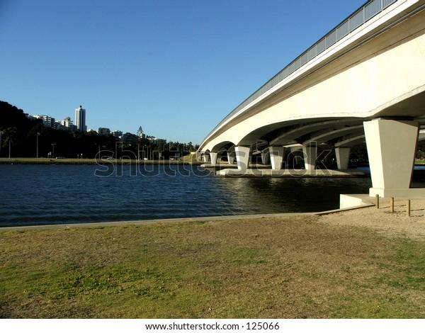 Narrows Bridge in Perth, Western Australia