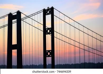 Narrows Bridge at Sunset