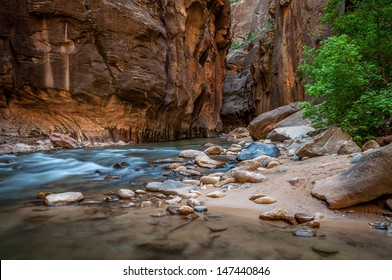 The Narrows - Zion National Park, UT.