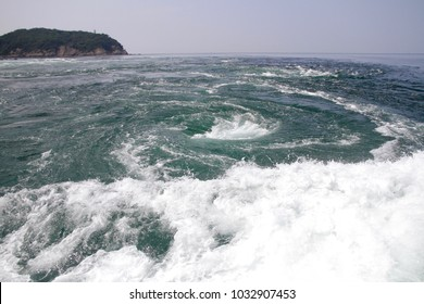 The Naruto whirlpools (Naruto no Uzushio) are tidal whirlpools in the Naruto Strait, a channel between Naruto in Tokushima and Awaji Island in Japan.