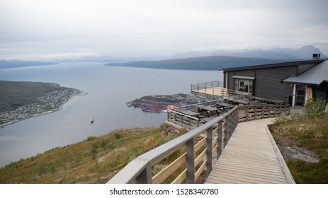 Narvik Cable car station in North Norway
