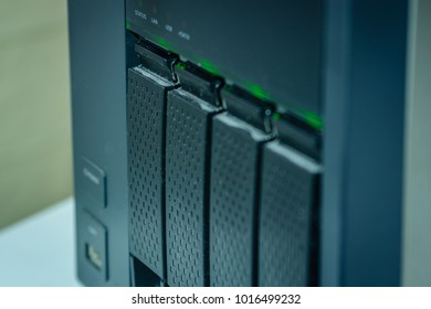 NAS System with four Hard-Drives for Home and Business Use