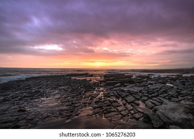 Nash Point, in Llantwit Major, South Wales UK, a popular destination for tourists and locals alike.