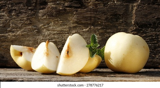 Nashi Pear Images, Stock Photos  Vectors  Shutterstock-4218