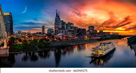 Nashville with boat