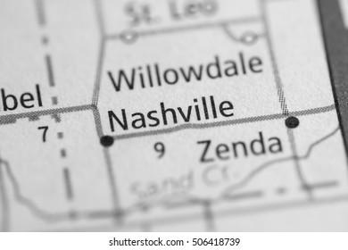 Nashville. Kansas. USA.