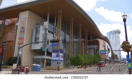 Nashville Music Center - NASHVILLE, USA - JUNE 17, 2019