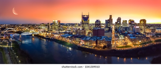 Nashville Tn Skyline Stock Photos, Images & Photography