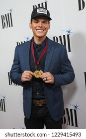 NASHVILLE, TN - NOV 13: Granger Smith attends the BMI Country Awards 2018 at BMI Nashville on November 13, 2018 in Nashville, Tennessee.