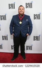 NASHVILLE, TN - NOV 13: Luke Combs attends the BMI Country Awards 2018 at BMI Nashville on November 13, 2018 in Nashville, Tennessee.