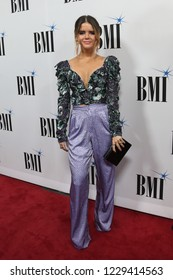 NASHVILLE, TN - NOV 13: Maren Morris attends the BMI Country Awards 2018 at BMI Nashville on November 13, 2018 in Nashville, Tennessee.