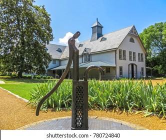 Nashville, TN USA - 06/17/2014 - Nashville, TN USA - Belle Meade Plantation - Well and Carriage House