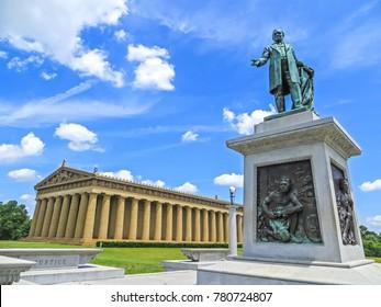 Nashville, TN USA - 06/17/2014 - Nashville, TN USA - Centennial Park The Parthenon Replica Museum