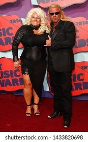 "NASHVILLE, TN-JUNE 4: Duane Lee ""Dog"" Chapman, Sr. and wife Beth Chapman attend the 2014 CMT Music Awards at the Bridgestone Arena on June 4, 2014 in Nashville, Tennessee."
