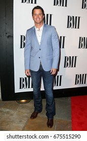 NASHVILLE, TN-NOV 3: Recording artist Easton Corbin attends the 63rd annual BMI Country awards at BMI on November 3, 2015 in Nashville, Tennessee.