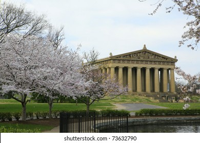 Nashville's Parthenon , the first day of Spring !