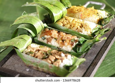 nasi bakar images stock photos vectors shutterstock https www shutterstock com image photo nasi bakar roasted rice served banana 1366978628