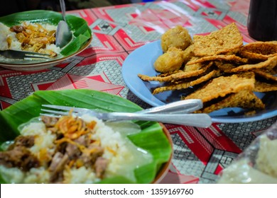 Nasi Gandul or Gandul Rice is a local food from a street food restaurant at Semarang, Central Java. But originated from Pati, Central Java. It's famous with the variety of the beef offal.