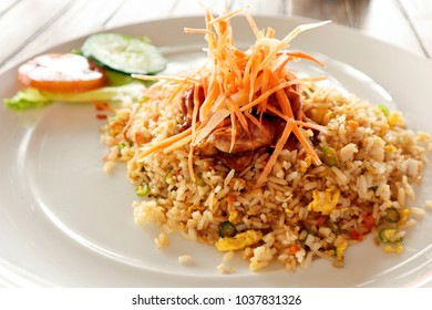 Nasi Goreng. Fried Rice Indonesian Food.