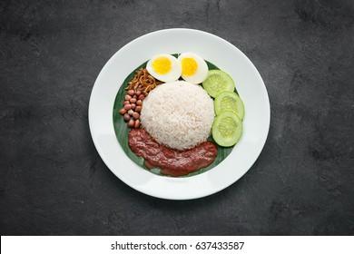"""""""Nasi Lemak"""", Malaysia Local Food"""