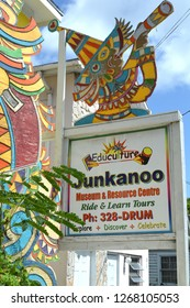Nassau Bahamas Circa - June 2017: he National Art Gallery of The Bahamas, the Educulture Junkanoo Museum is the brainchild of Arlene Nash Ferguson, an expert on Bahamian culture and traditions