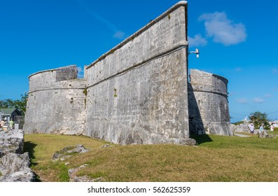 NASSAU, BAHAMAS - DECEMBER 20: Fort Fincastle in Nassau, Bahamas on Dec 20, 2016.