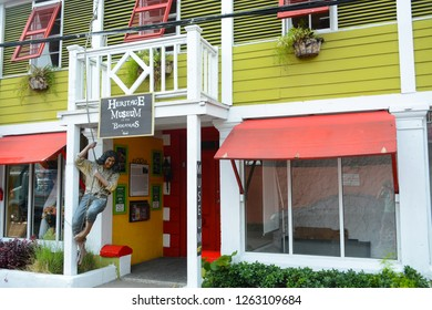 Nassau, Bahamas - MAY 1, 2018: Heritage Museum of Bahamas in Downtown of Nassau