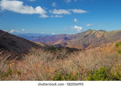 Nasu mountains is famous mountain in Japan
