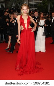 Natasha Poly arriving for the 'Cosmopolis' premiere during the 65th annual Cannes Film Festival, Cannes, France. 25/05/2012 Picture by: Henry Harris / Featureflash