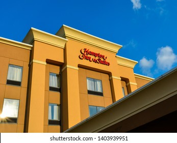 Natchez, MS - Sep. 22, 2017: Hampton Inn & Suites Natchez. Located beside the Mississippi river, Hampton Inn & Suites Natchez is only 20 minutes from Hardy-Anders Field Natchez-Adams County Airport.