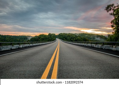 The Natchez Trace Parkway in Franklin, Tennessee