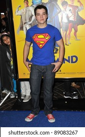"""Nathan Kress at the Los Angeles premiere of """"MegaMind"""" at Mann's Chinese Theatre, Hollywood. October 30, 2010  Los Angeles, CA Picture: Paul Smith / Featureflash"""